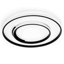 LAMPA SUFITOWA PLAFON LED OKRĘGI I LINIE 76W + PILOT DL-G03