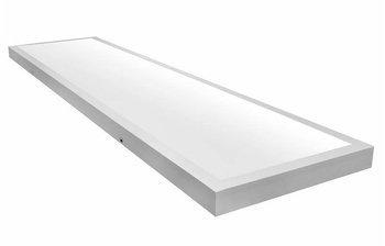 Plafon Natynkowy Biały 120cm X 30cm 60W barwa ciepła